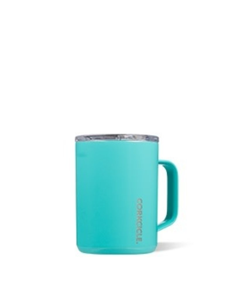 Corkcicle Corkcicle Mug- 16oz Gloss Turquoise