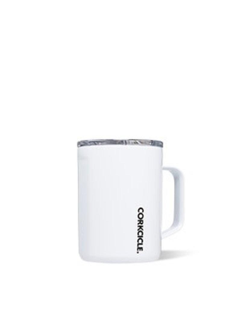 Corkcicle Corkcicle Mug- 16oz Gloss White