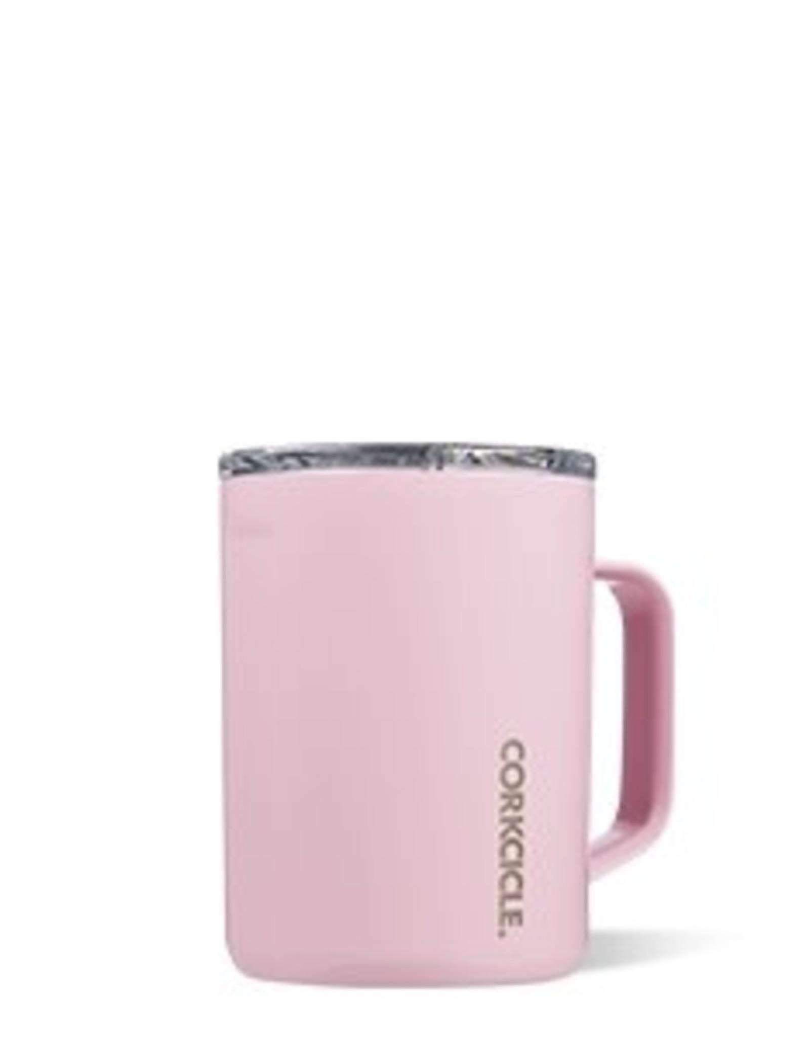 Corkcicle Mug- 16oz Rose Quartz