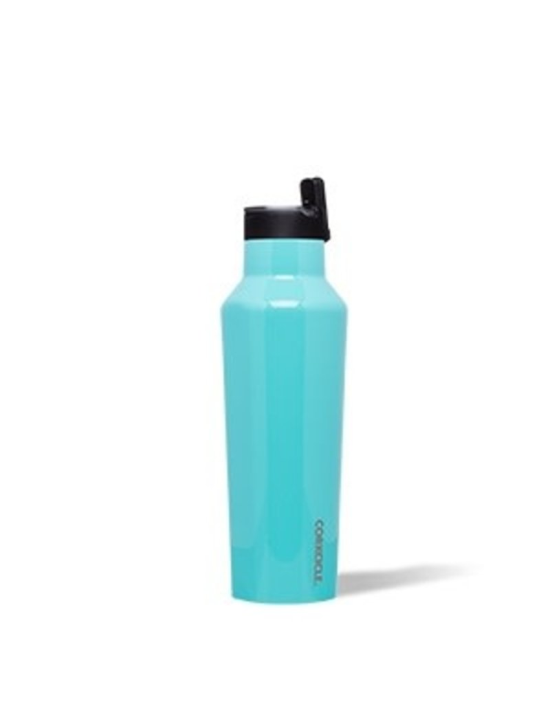 Corkcicle Corkcicle Sport Canteen- 20oz Gloss Turquoise