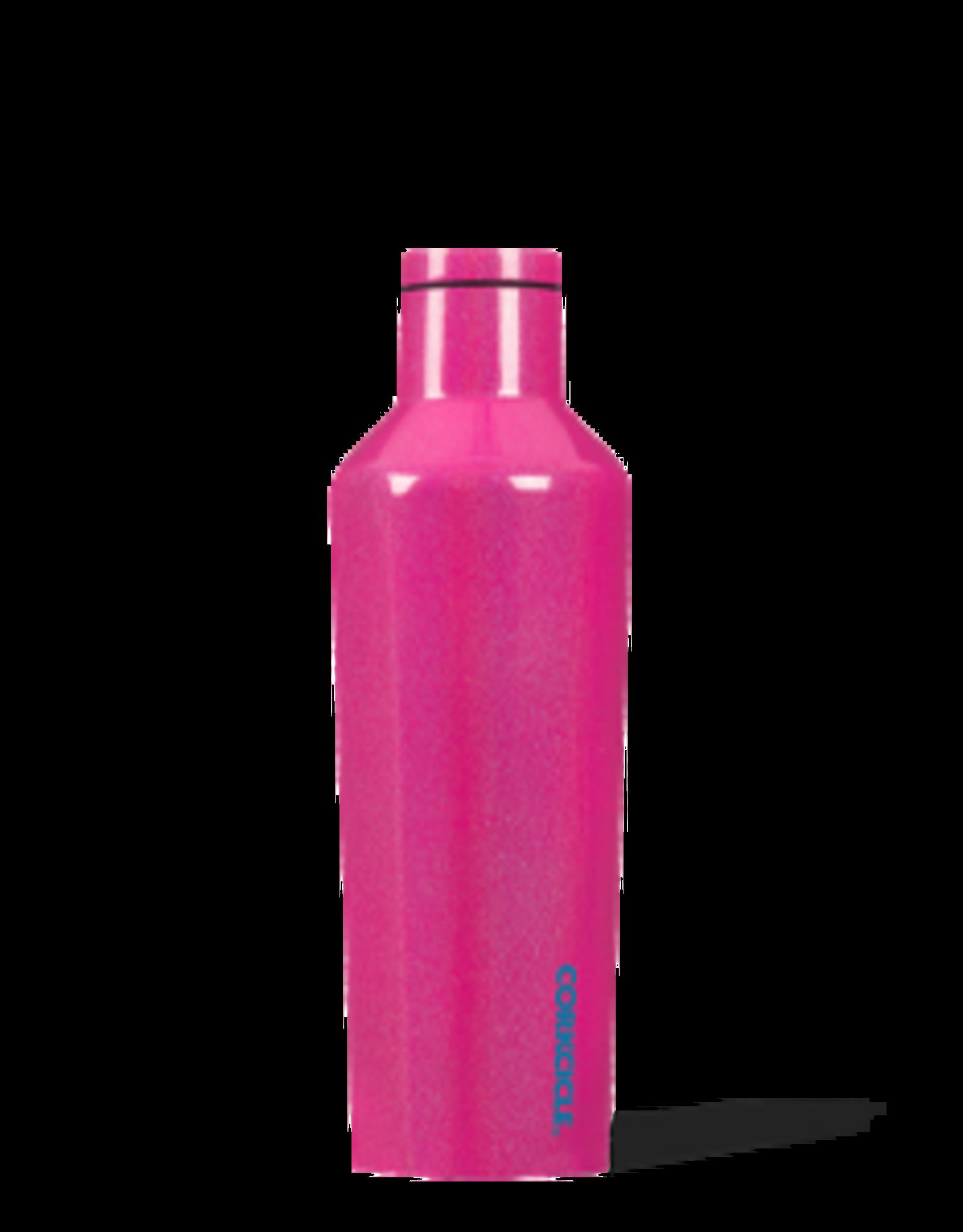 Corkcicle Canteen- 16oz Unicorn Sparkle Pink