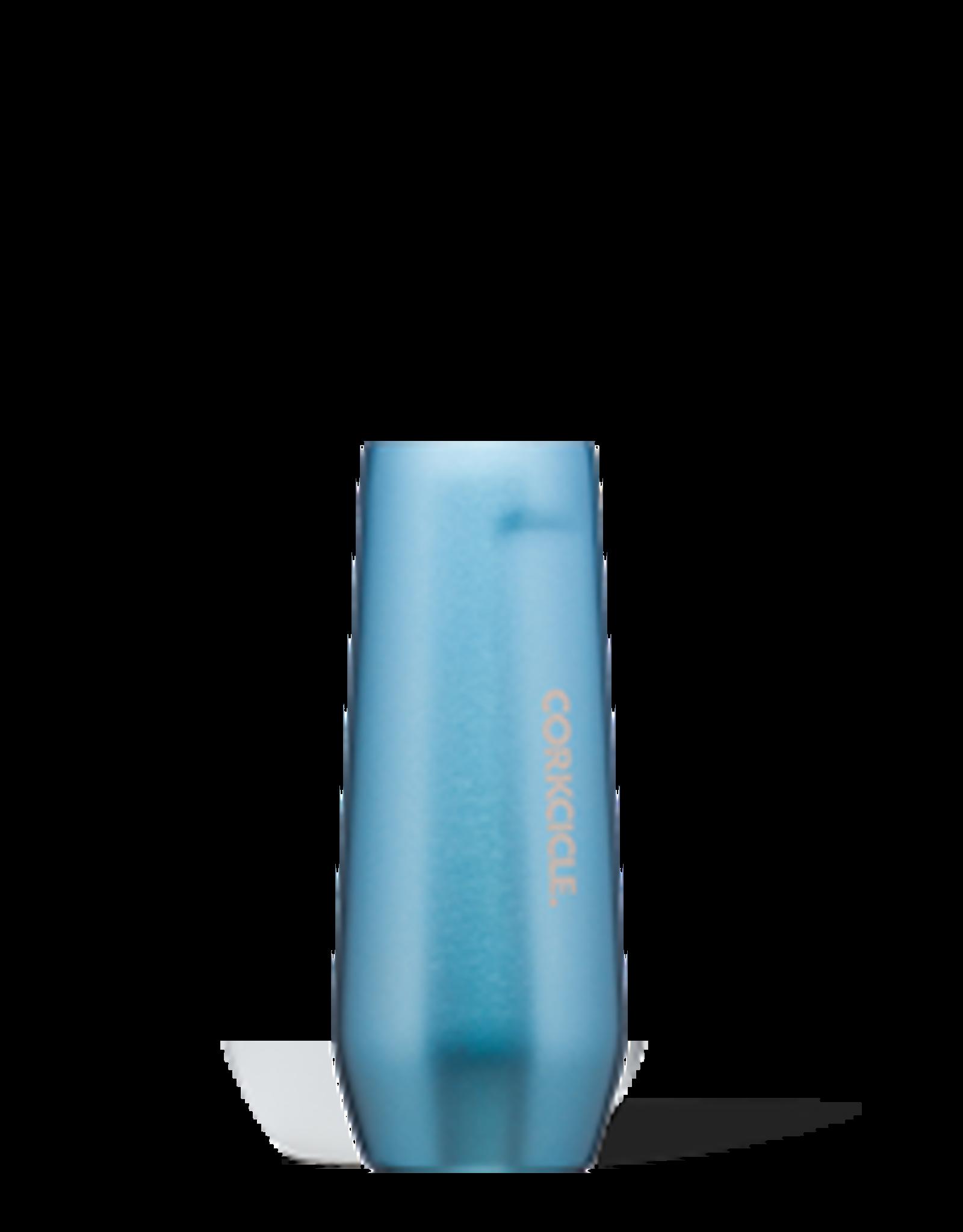 Corkcicle Stemless Flute- 7oz  Moonstone Metallic