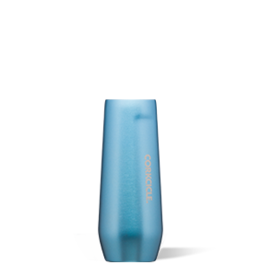 Corkcicle Stemless Flute- 7oz  Moonstone Metallic