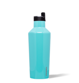 Corkcicle Sport Canteen- 40oz Gloss Turquoise