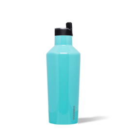 Corkcicle Corkcicle Sport Canteen- 40oz Gloss Turquoise