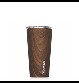 Corkcicle Tumbler- 16oz Specialty Walnut Wood