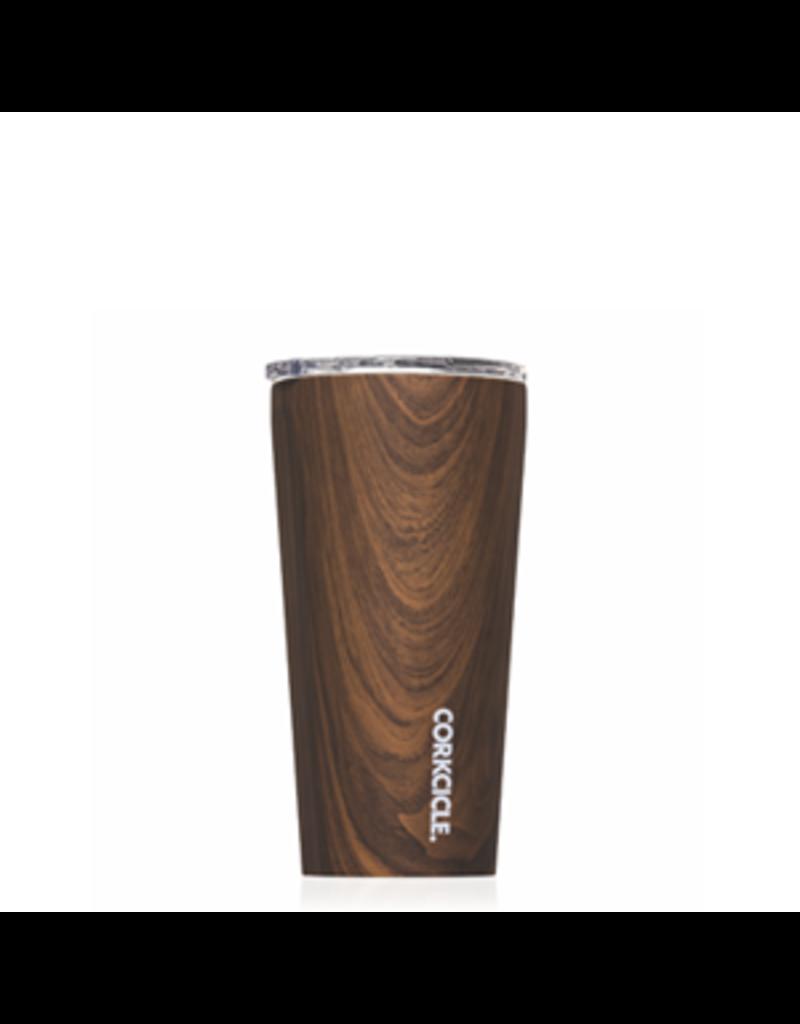 Corkcicle Corkcicle Tumbler- 16oz Specialty Walnut Wood