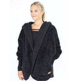 Nordic Beach Nordic Beach Cozy Cardigan Black Licorice