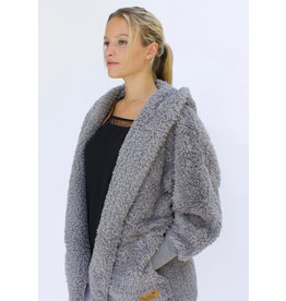 Nordic Beach Nordic Beach Cozy Cardigan Grey Kitten