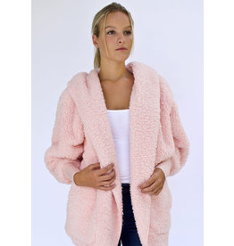 Nordic Beach Nordic Beach Cozy Cardigan Pink Heaven