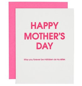 Chez Gagne Card- Mistaken as Your Sister Mother's Day