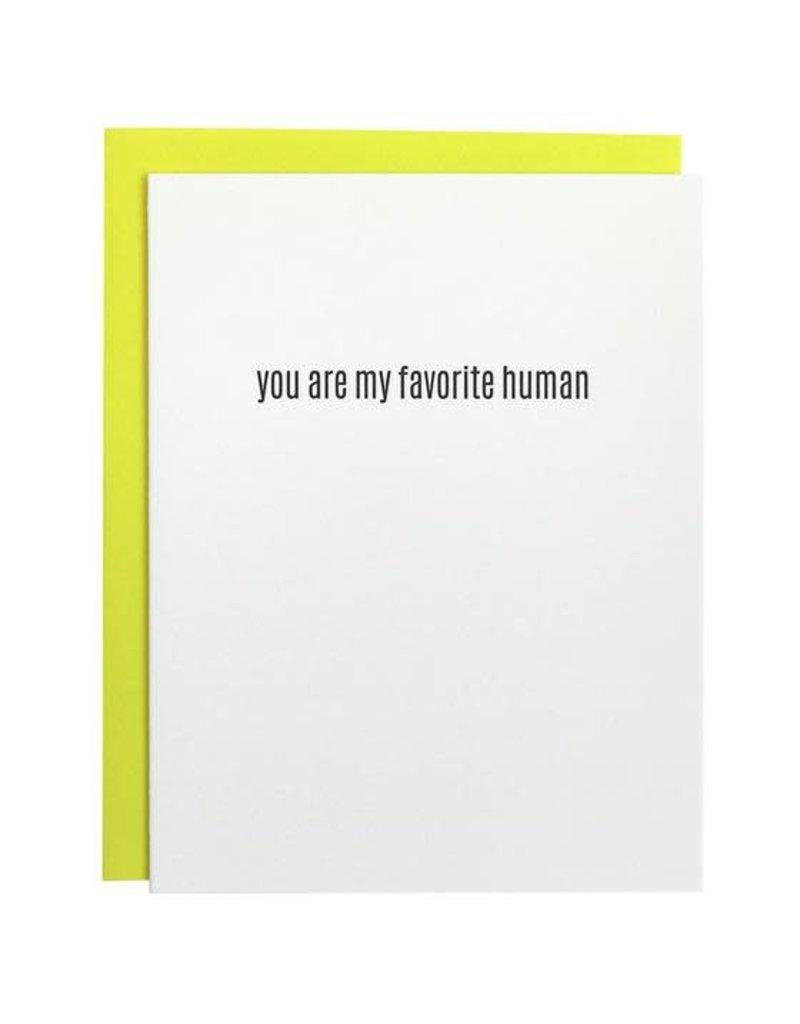 Card- Favorite Human