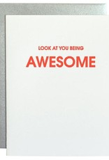 Chez Gagne Card- Look at You Being Awesome
