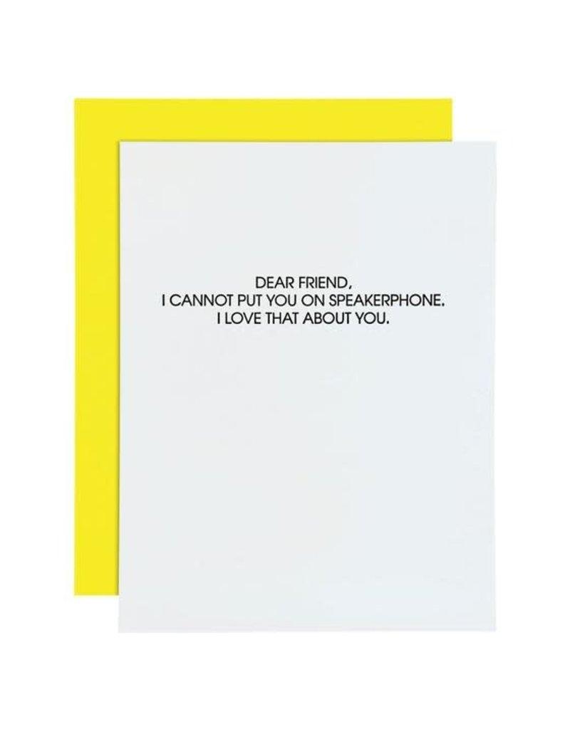 Card- Speakerphone