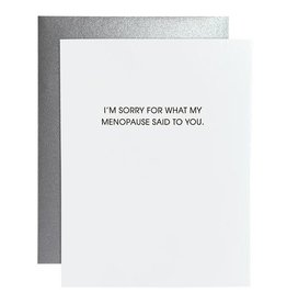 Card- My Menopause Said