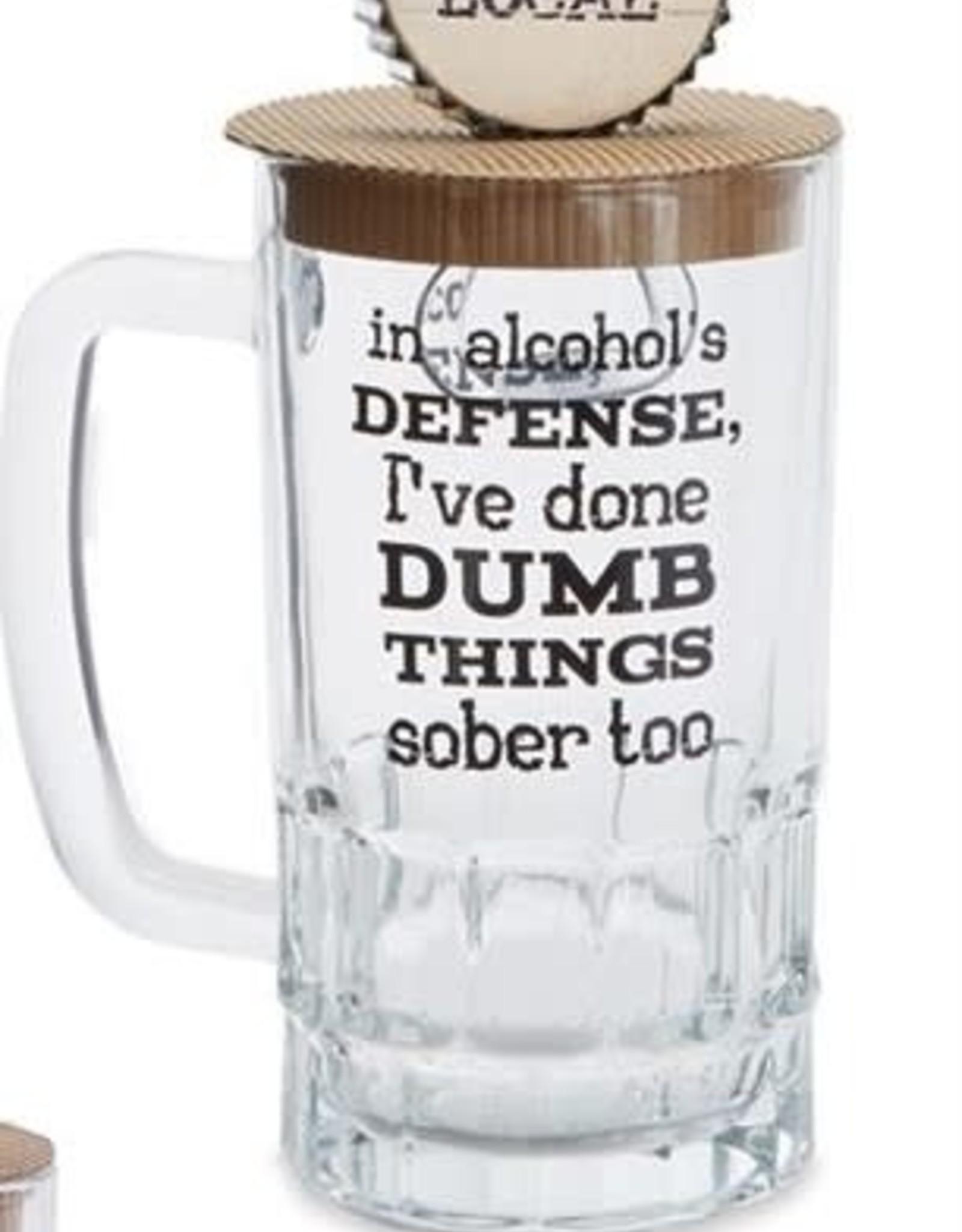 Beer Mug Set Alcohol Defense