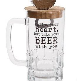 Beer Mug Set Follow