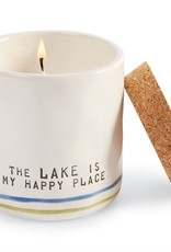 Candle with Matches Happy Lake