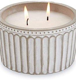 Citronella Flute Concrete Candle