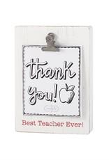 Clip Block Frame Best Teacher