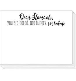 Roseanne Beck Mini Slab Pad- Dear Stomach, You are Bored