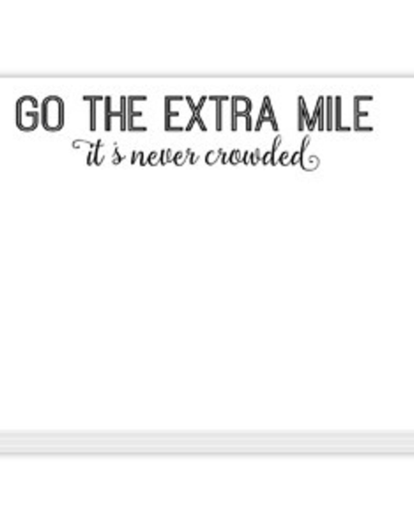 Roseanne Beck Mini Slab Pad- Go The Extra Mile