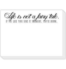 Roseanne Beck Mini Slab Pad- Life is Not a Fairy Tale