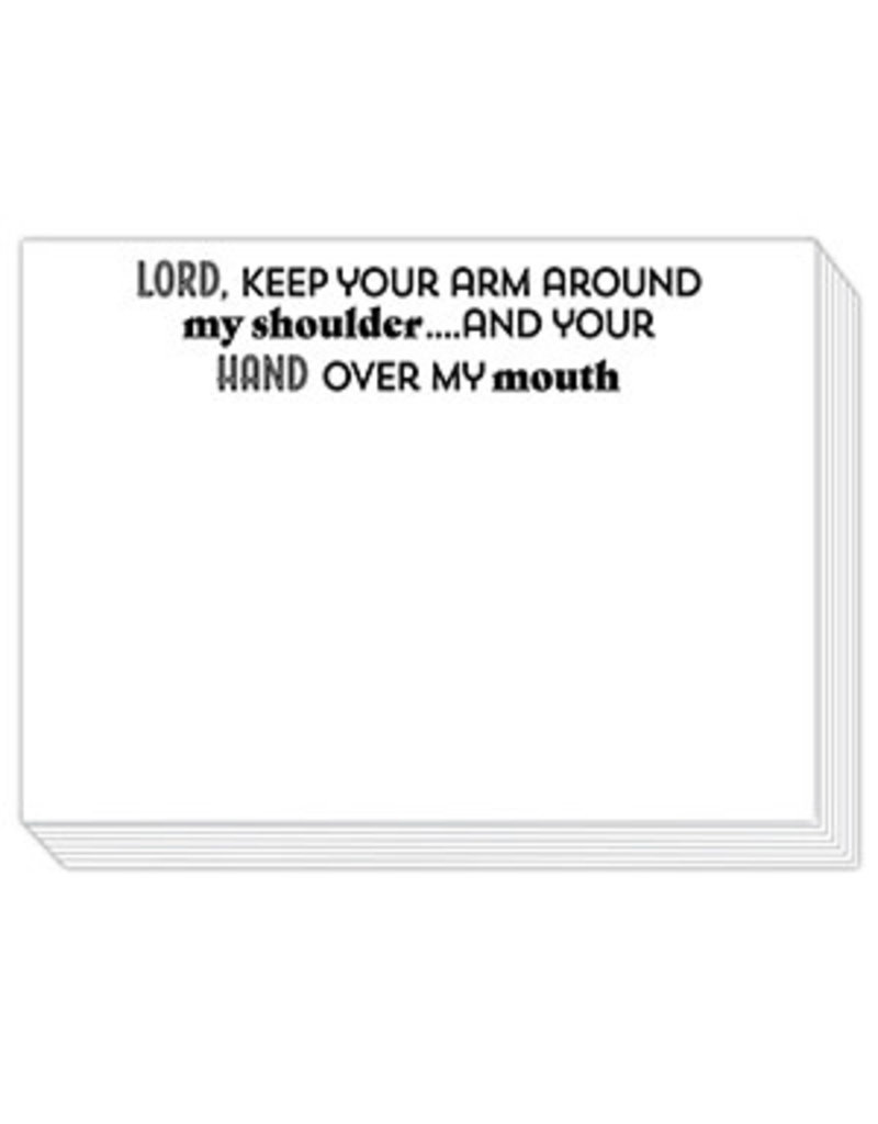 Mini Slab Pad- Lord, Keep Your Arm Around My Shoulder