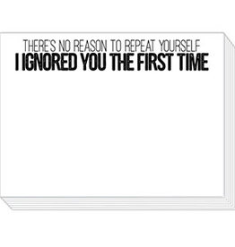Roseanne Beck Mini Slab Pad- No Reason to Repeat Yourself