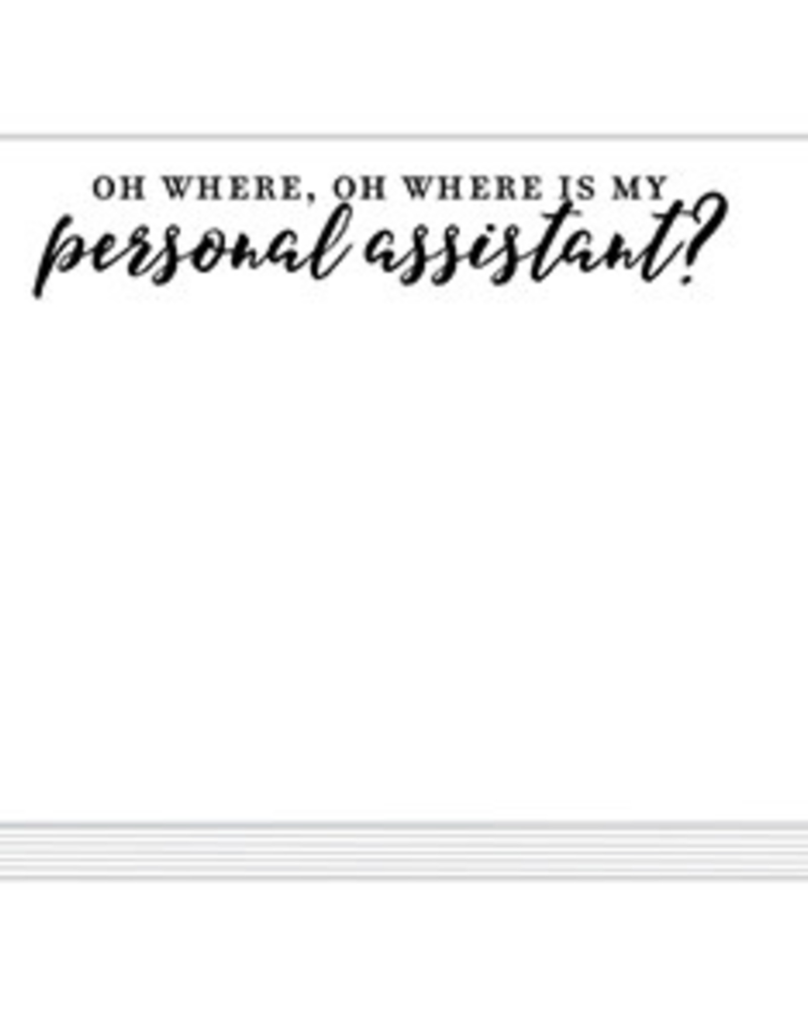 Roseanne Beck Mini Slab Pad- Oh Where, Oh Where My Assistant