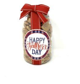 Oh Sugar *Oh Sugar 10oz Cookie Jar Happy Father's Day