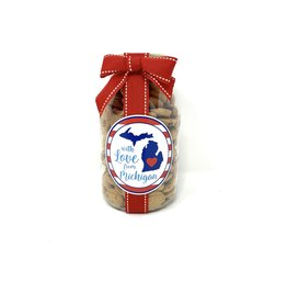 Oh Sugar Oh Sugar 10oz Cookie Jar Love From Michigan