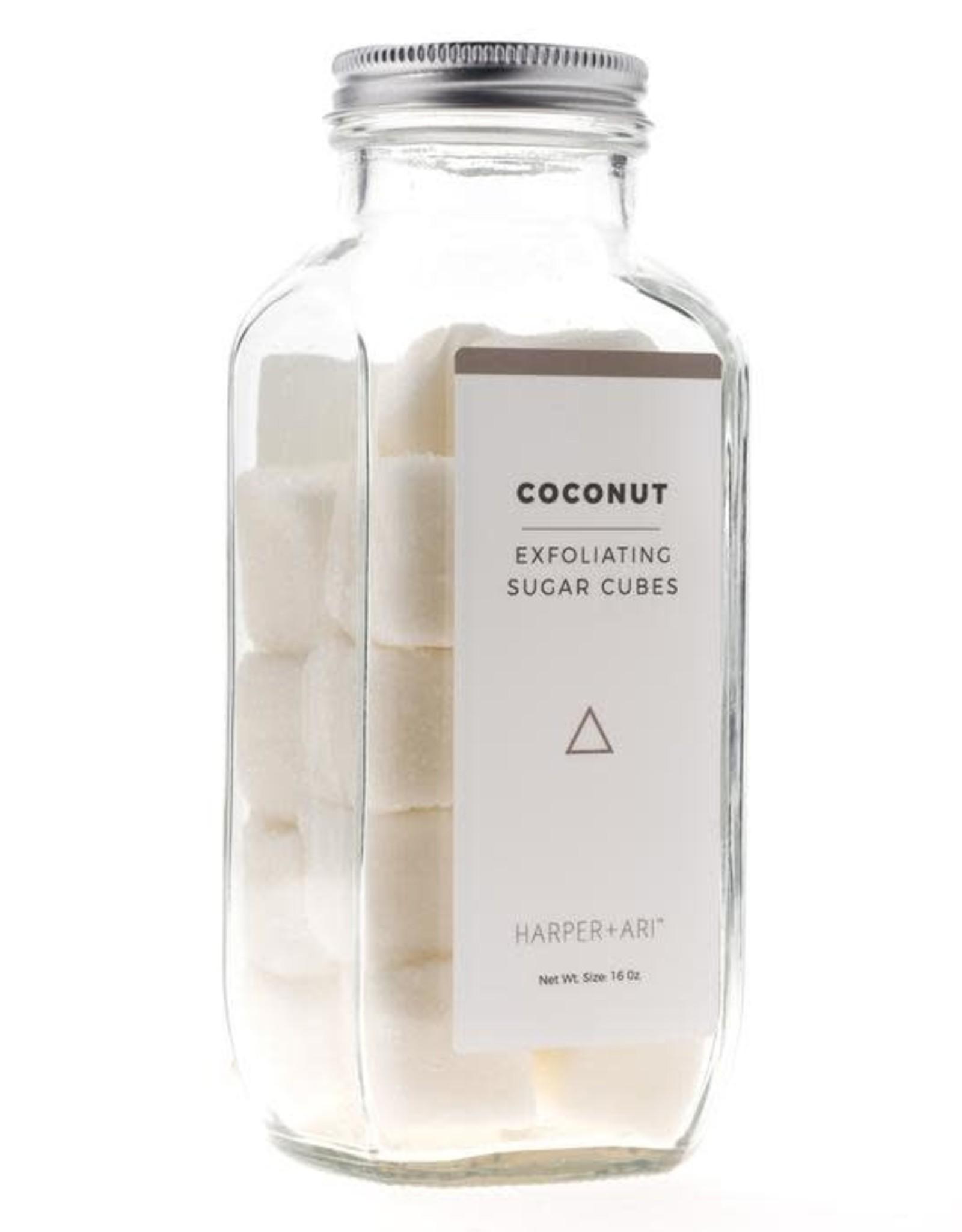 Exfoliating Sugar Cubes 16oz Bottle Coconut