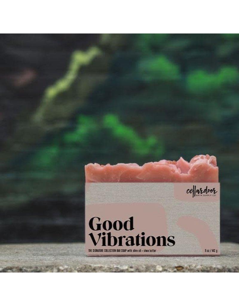 Cellar Door Soap Good Vibrations