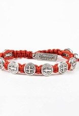 Blessing Bracelet Silver Silver/Coral