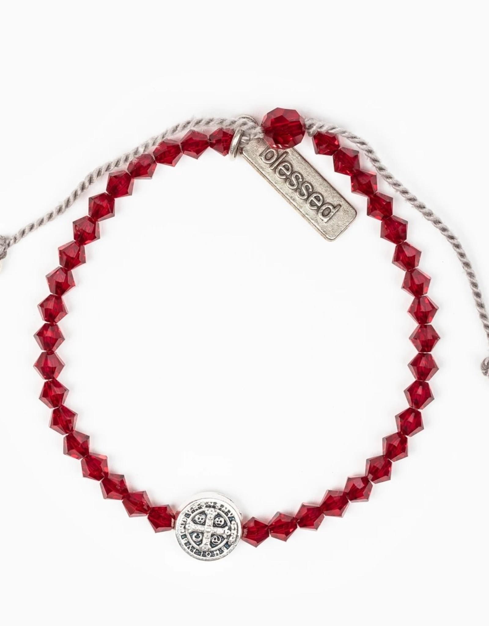 Birthday Blessing Bracelet January - Silver