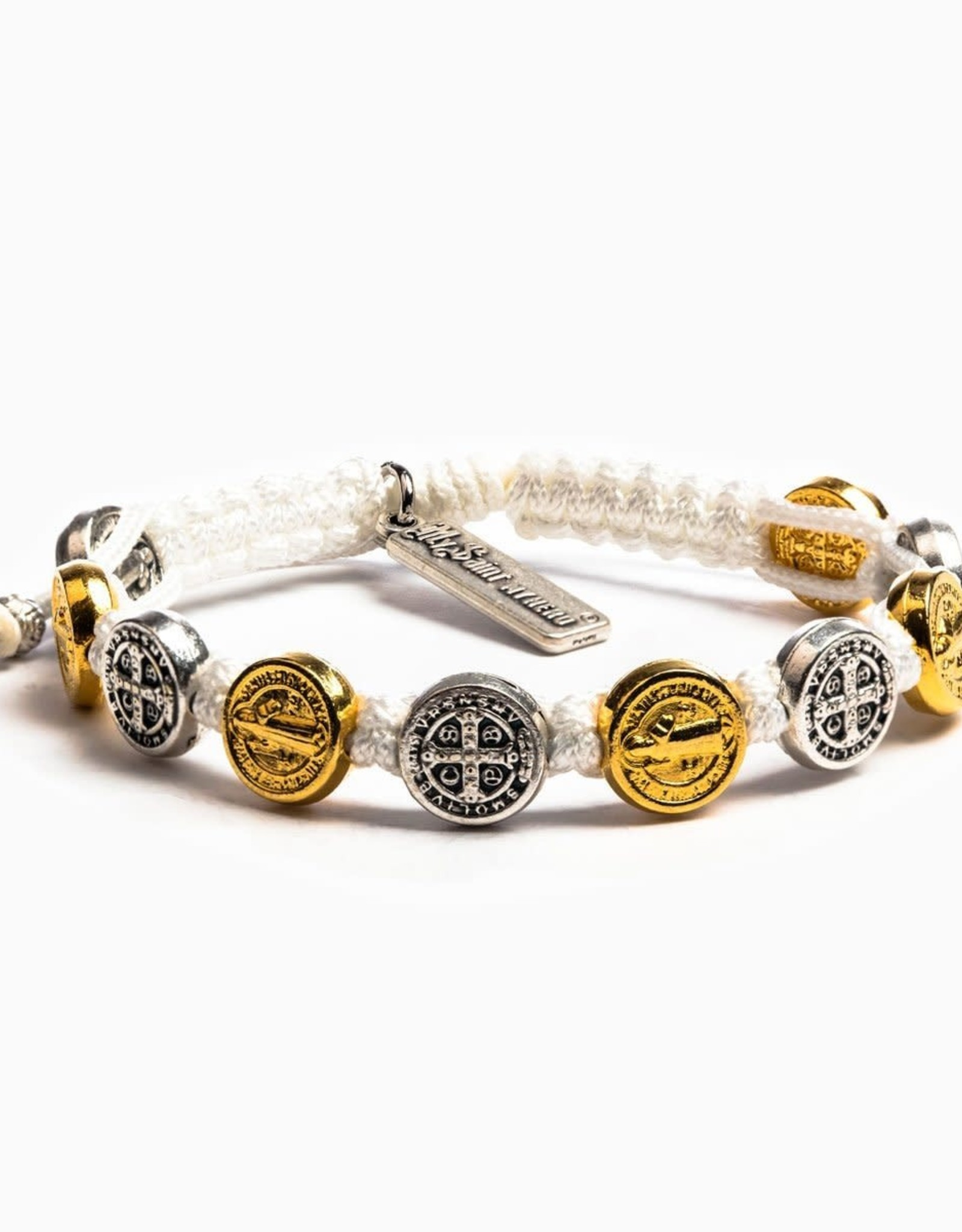 Blessing Bracelet Mixed Medals Mixed/White
