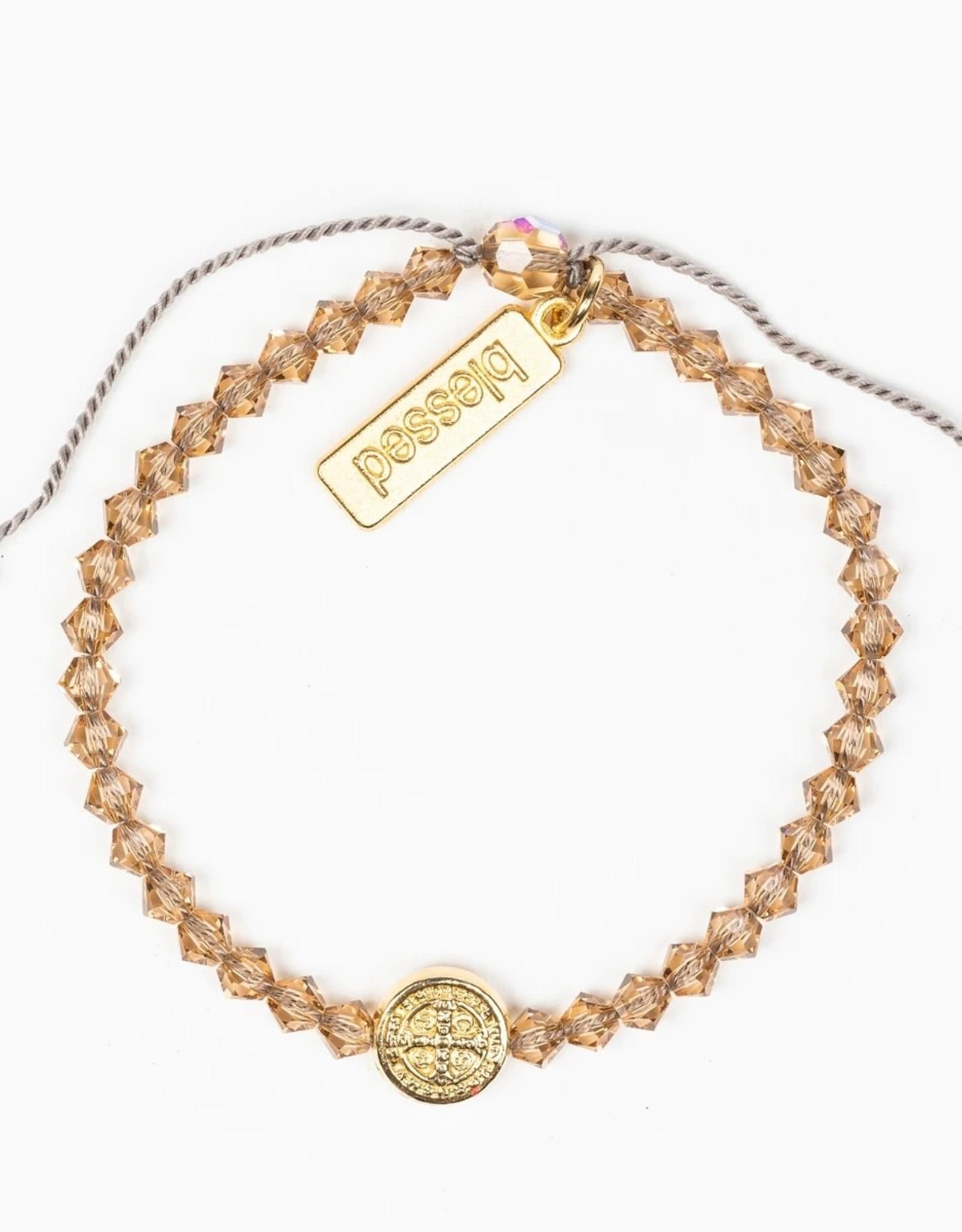 Birthday Blessing Bracelet November - Gold