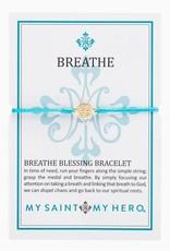 Breathe Bracelet Gold Gold/Turquoise