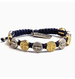 My Saint My Hero Blessing Bracelet Mixed/Navy