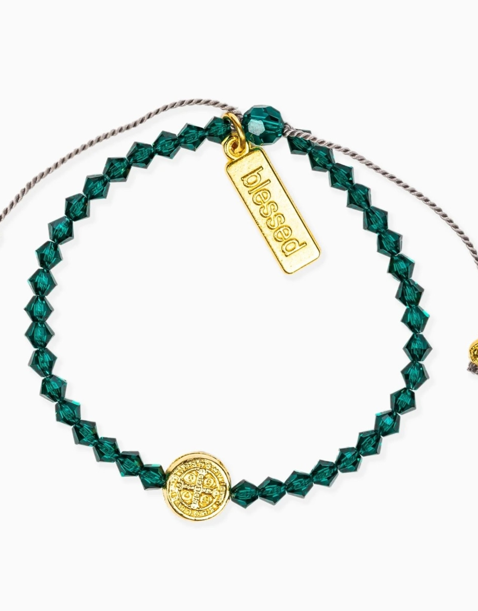 Birthday Blessing Bracelet May - Gold