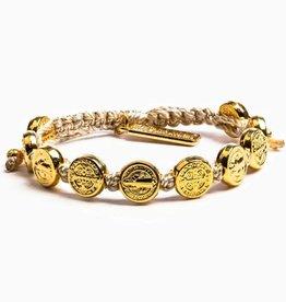 Blessing Bracelet Gold Gold/Metallic Gold