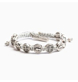 My Saint My Hero Blessing Bracelet Silver/Silver