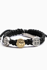 Blessing Bracelet Mixed Medals Mixed/Black