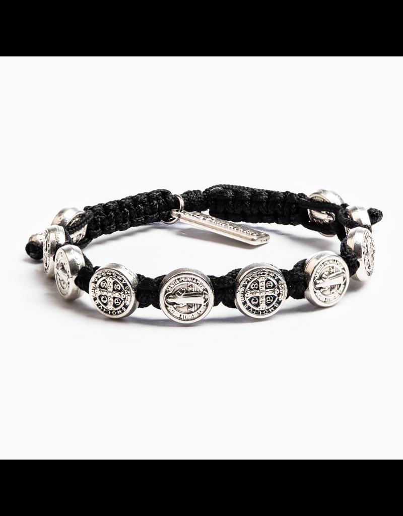 Blessing Bracelet Silver/Black