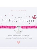 Katie Loxton Child's Friendship Bracelet Birthday Princess