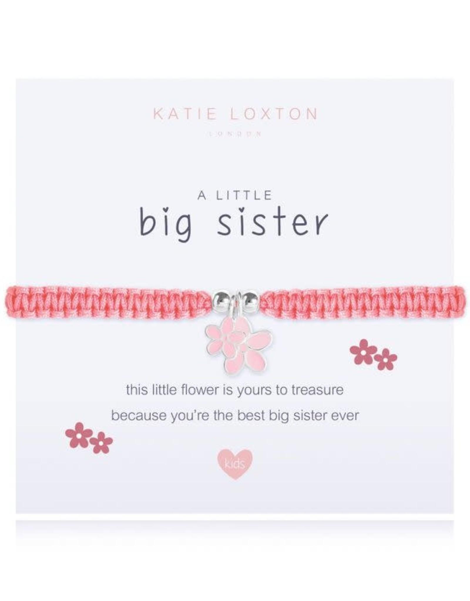 Katie Loxton Child's Friendship Bracelet Big Sister