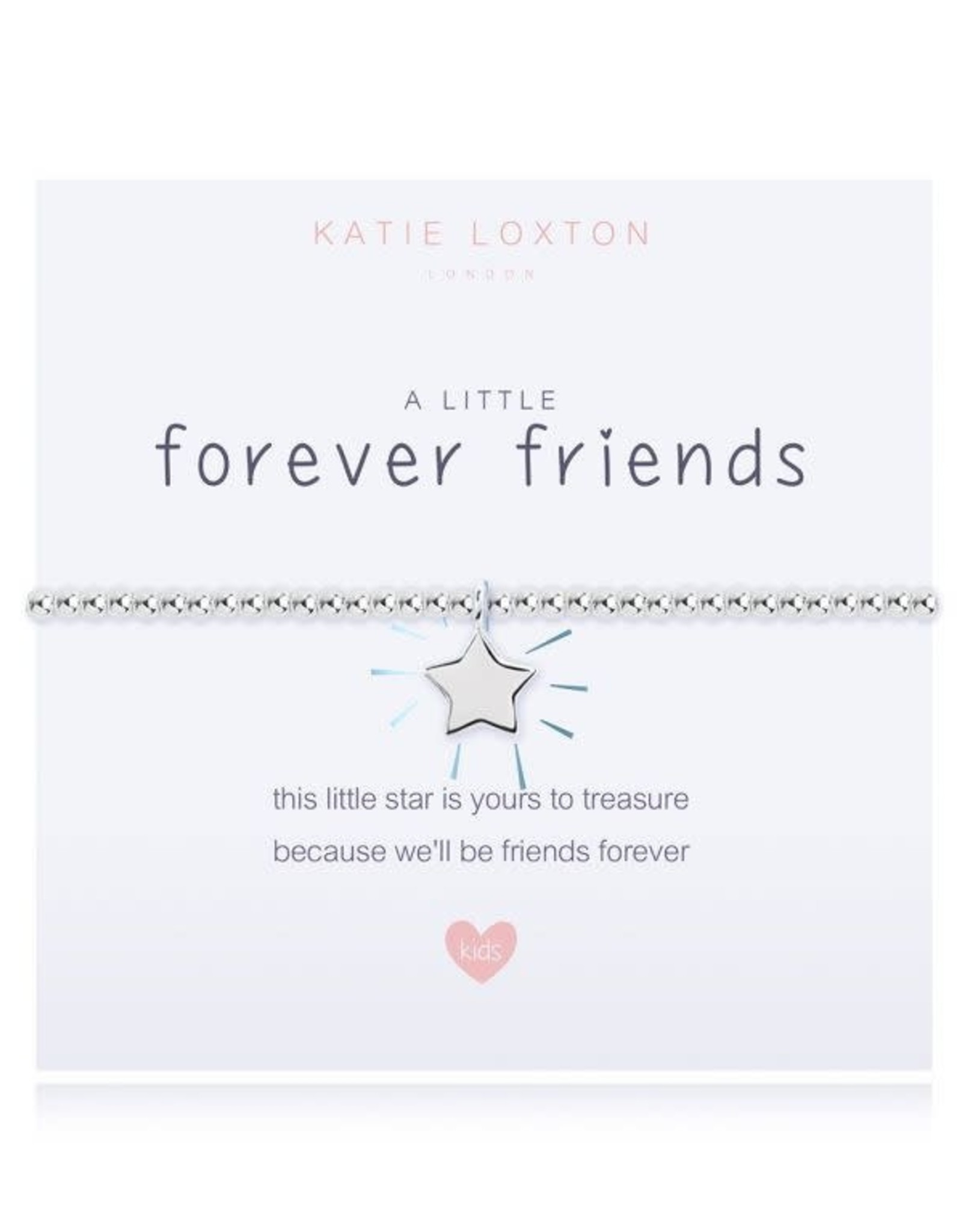 Katie Loxton Child's Beaded Bracelet Forever Friends