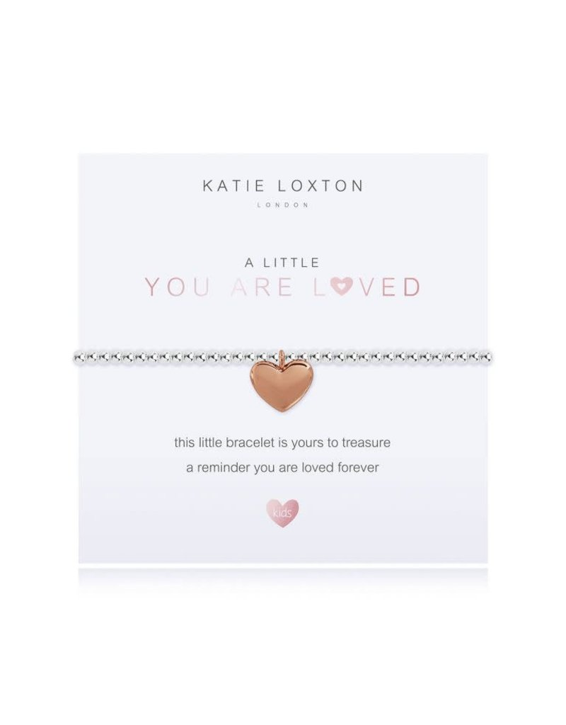 Katie Loxton Katie Loxton Children's Beaded Bracelet You Are Loved