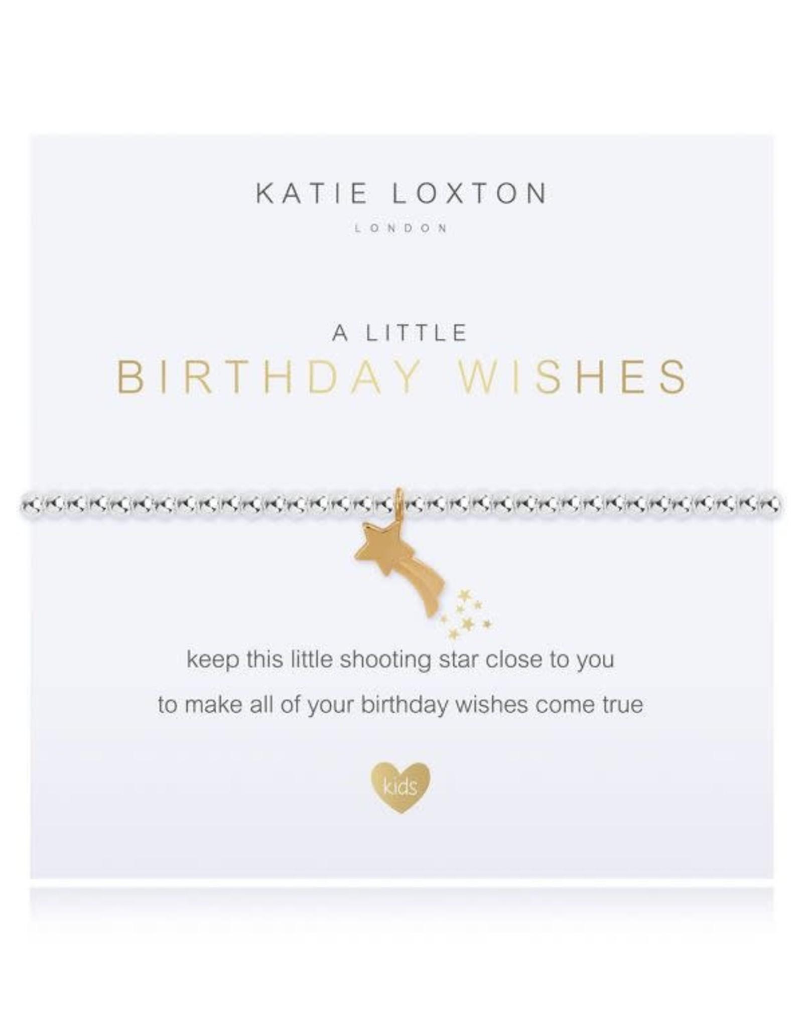 Katie Loxton Child's Beaded Bracelet Birthday Wish